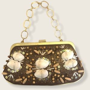 Rafe shell purse / clutch